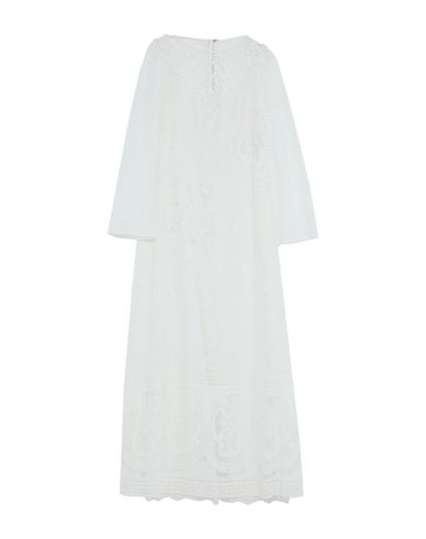 Купить Женское длинное платье  белого цвета