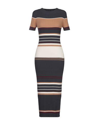 Фото - Платье длиной 3/4 от TWINSET темно-синего цвета