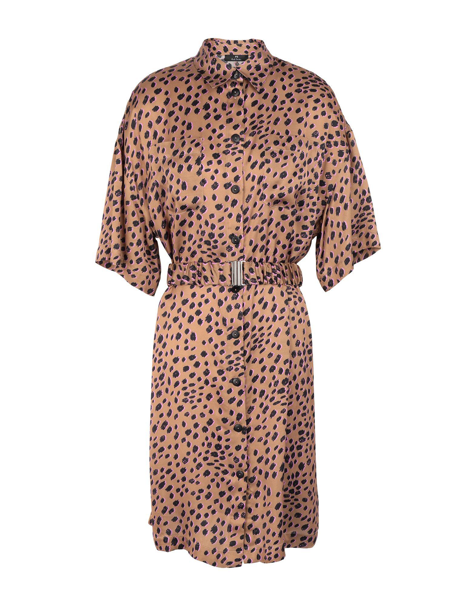 цена PS PAUL SMITH Платье до колена онлайн в 2017 году