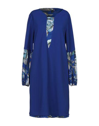 Фото - Женское короткое платье LUCKYLU  Milano синего цвета