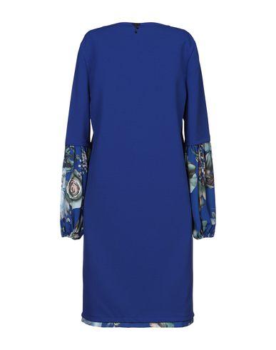 Фото 2 - Женское короткое платье LUCKYLU  Milano синего цвета