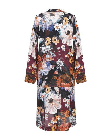 Фото 2 - Платье до колена от LIBERTINE-LIBERTINE красно-коричневого цвета