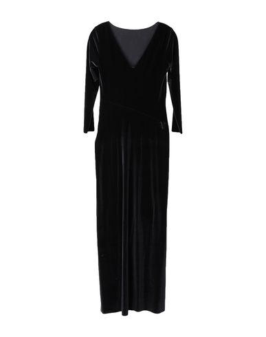 Фото - Женское длинное платье WONDERFULL черного цвета