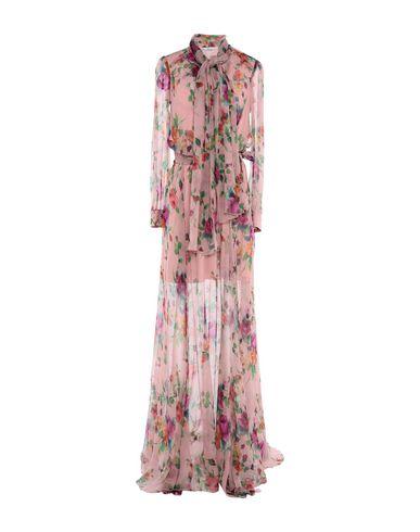 Фото - Женское длинное платье  пастельно-розового цвета