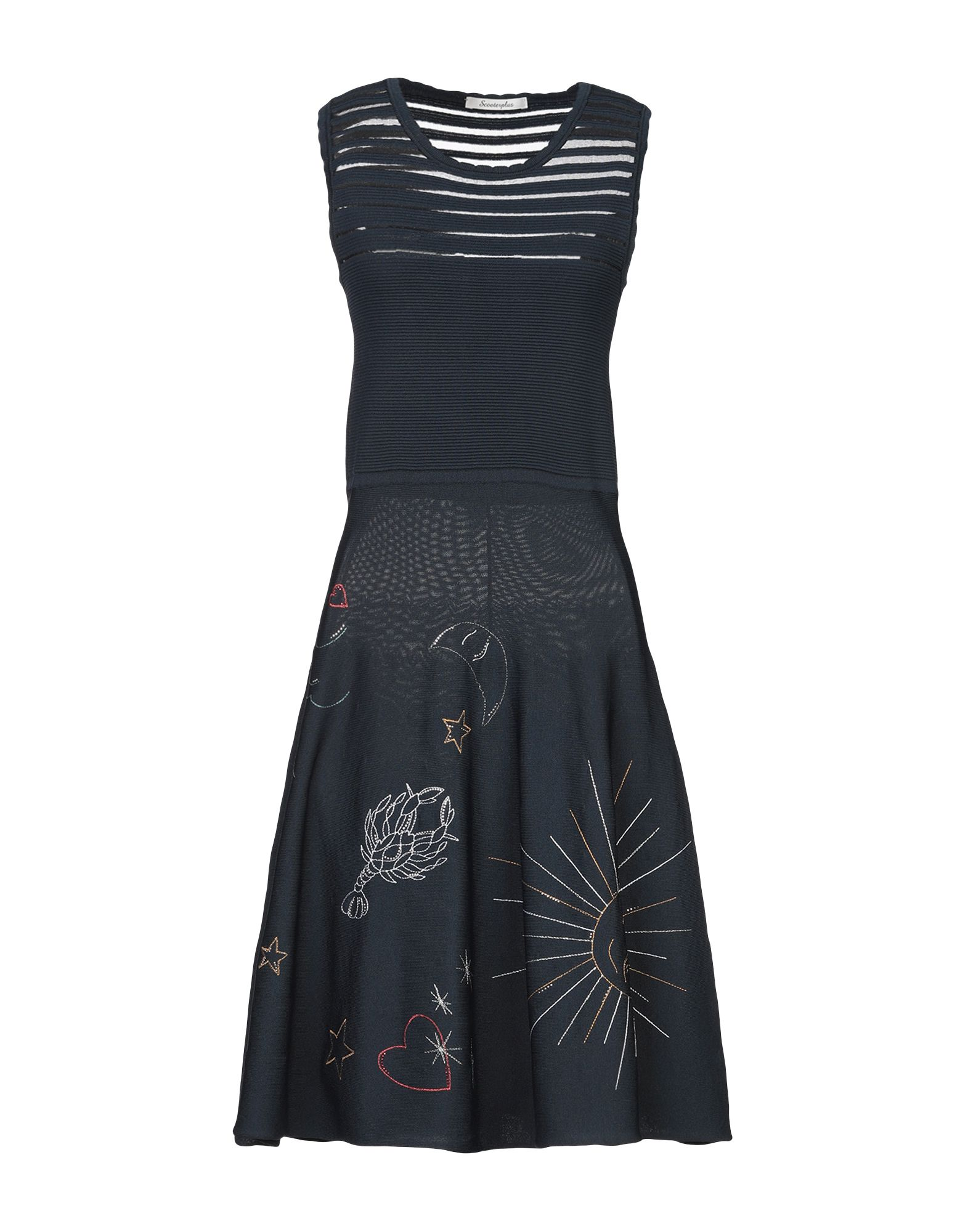 SCOOTERPLUS Платье до колена