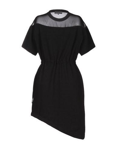 Фото 2 - Женское короткое платье LES BENJAMINS черного цвета