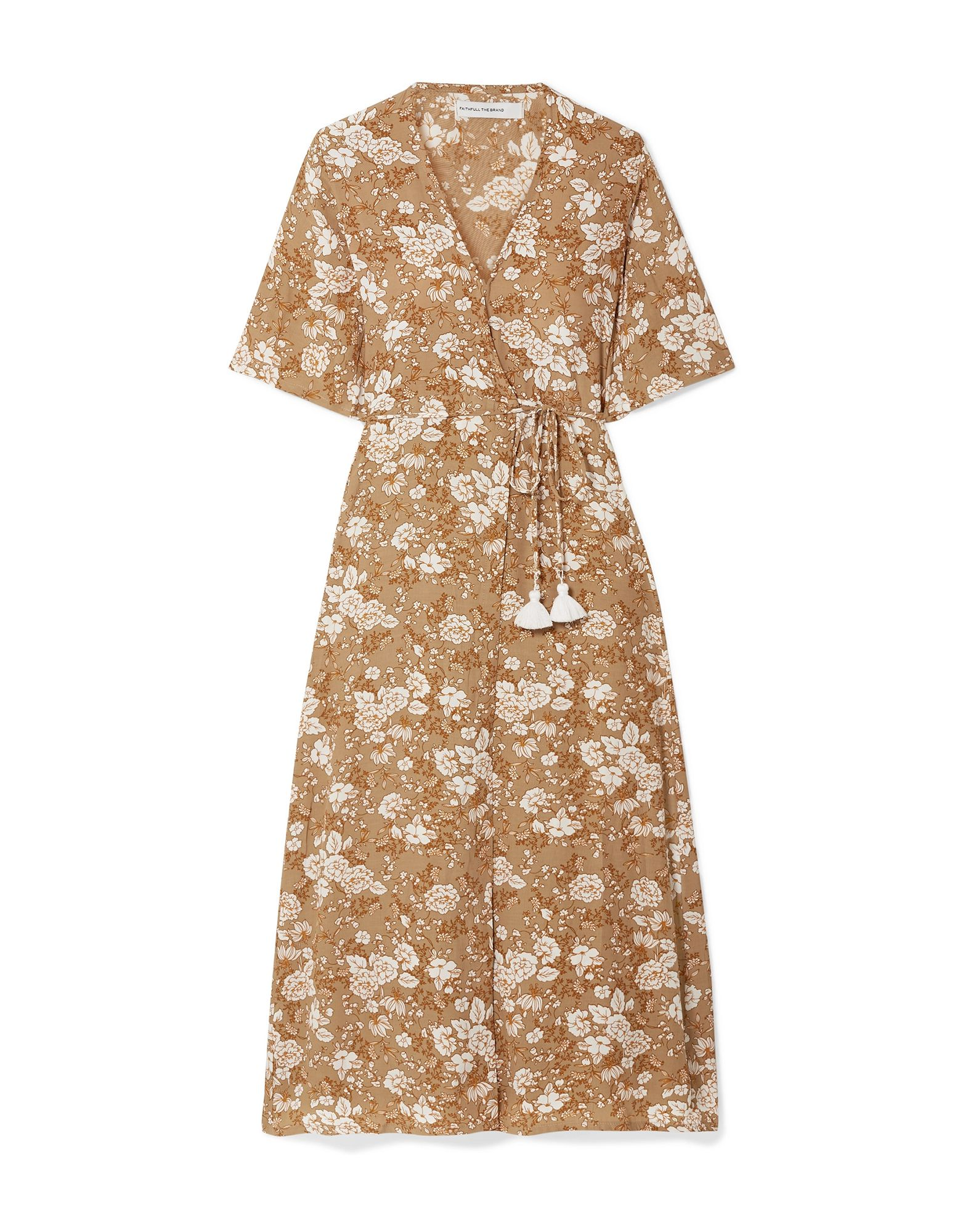 FAITHFULL THE BRAND Платье длиной 3/4