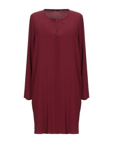 Купить Женское короткое платье CARLA G. красно-коричневого цвета