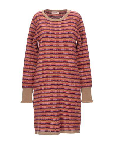 Фото - Женское короткое платье TWINSET цвет верблюжий