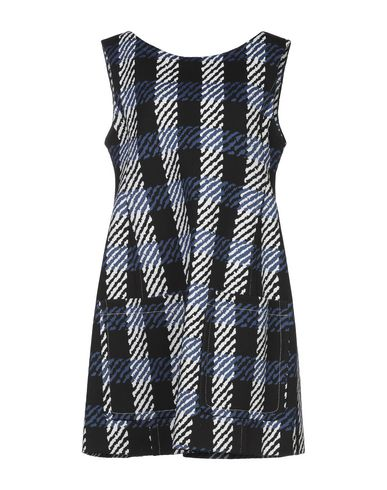Фото - Женское короткое платье  синего цвета