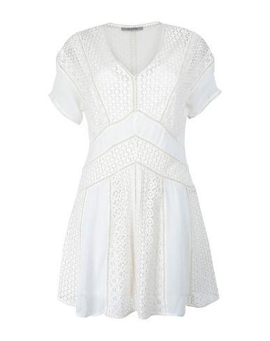 Фото - Женское короткое платье ALLSAINTS белого цвета