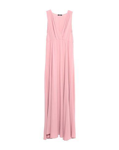 Фото - Женское длинное платье CARLA G. розового цвета