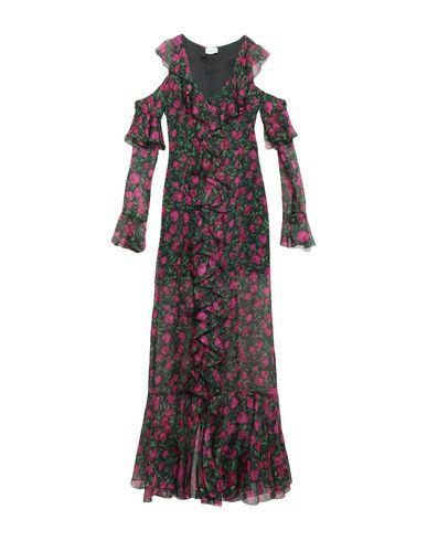 Фото - Женское длинное платье RAQUEL DINIZ зеленого цвета