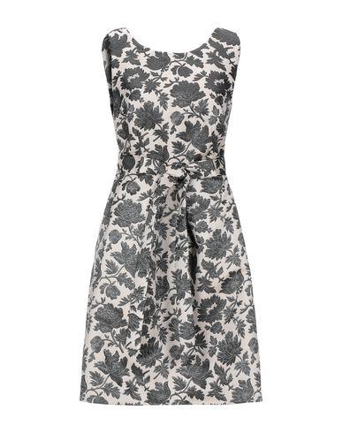 Фото - Женское короткое платье LANACAPRINA цвет слоновая кость