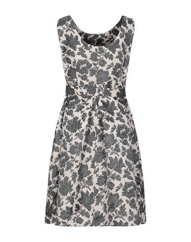 Фото 2 - Женское короткое платье LANACAPRINA цвет слоновая кость