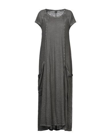 Фото - Платье длиной 3/4 свинцово-серого цвета