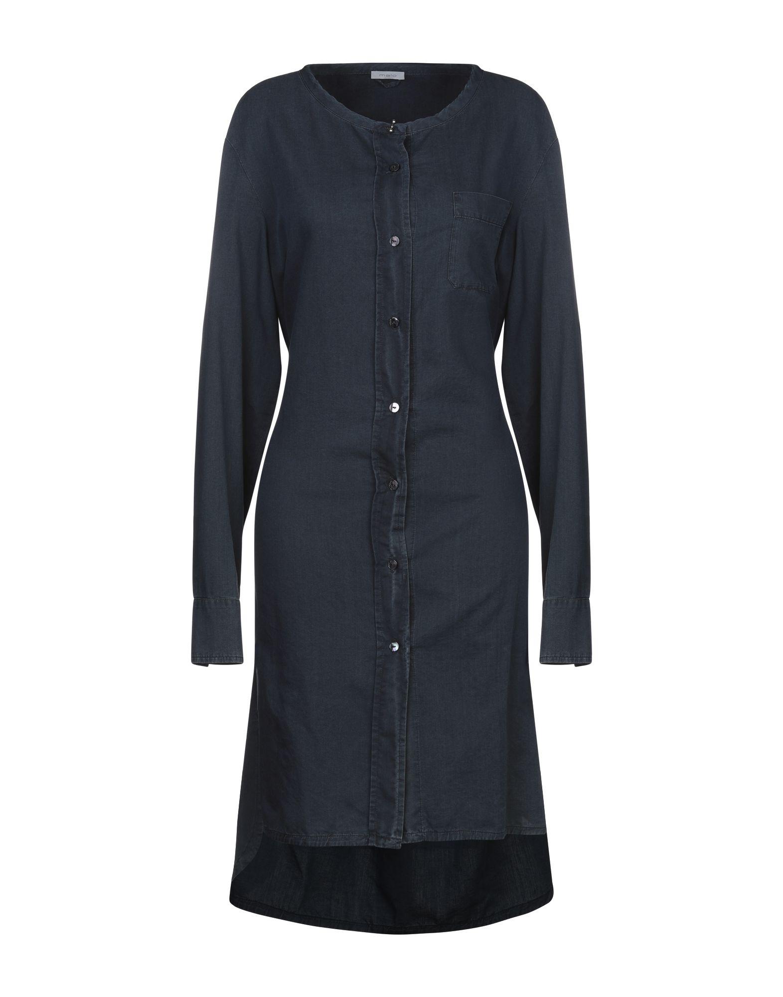 цена MALO Платье до колена онлайн в 2017 году