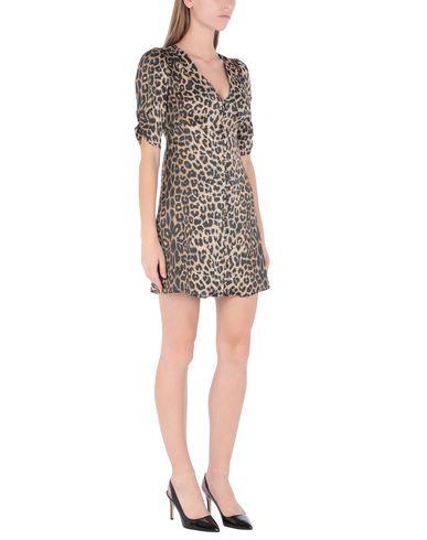 Фото 2 - Женское короткое платье ALLSAINTS цвет песочный