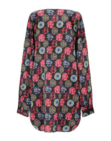 Фото 2 - Женское короткое платье S.S.N.Y. черного цвета