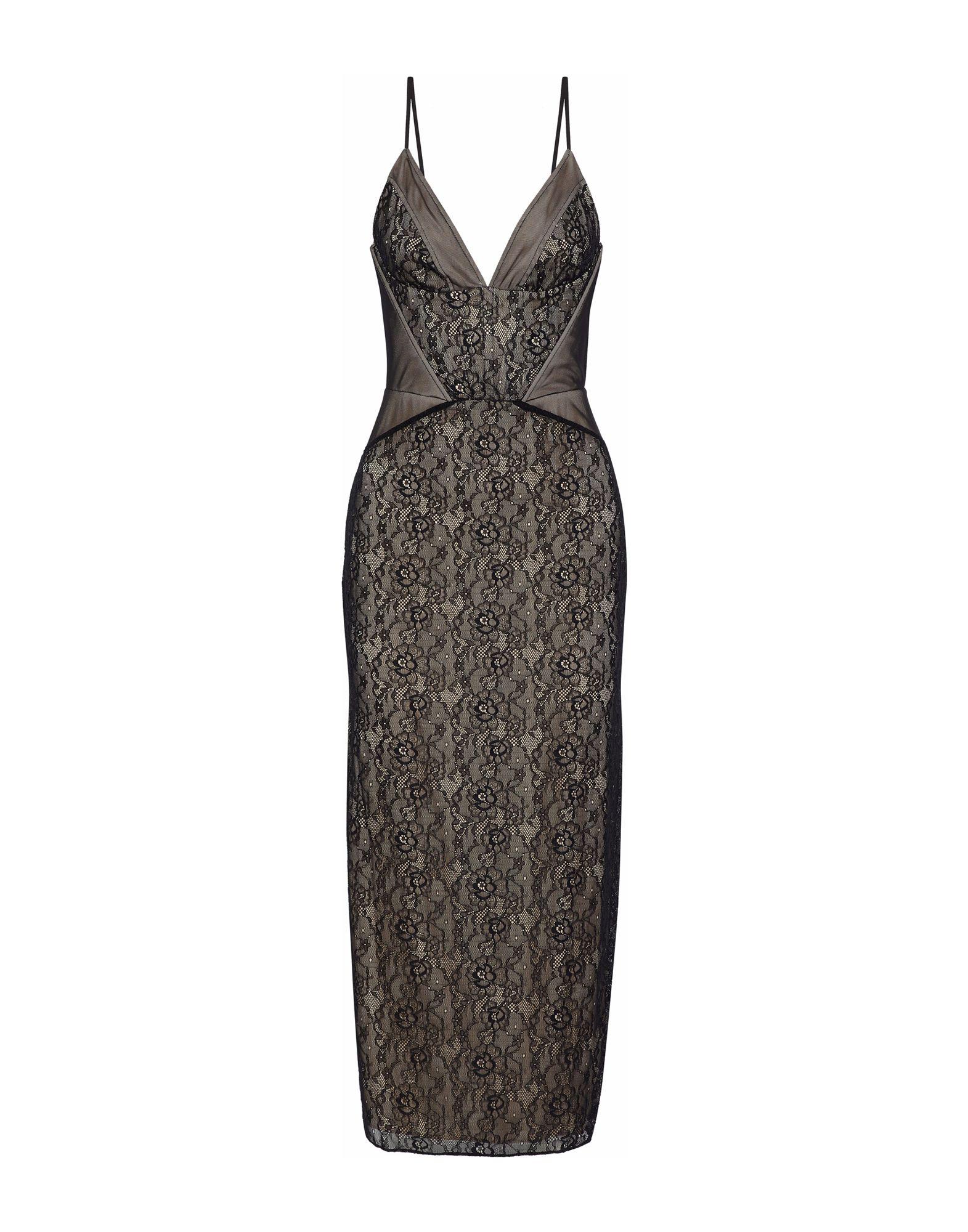 купить HAUTE HIPPIE Платье длиной 3/4 по цене 29000 рублей