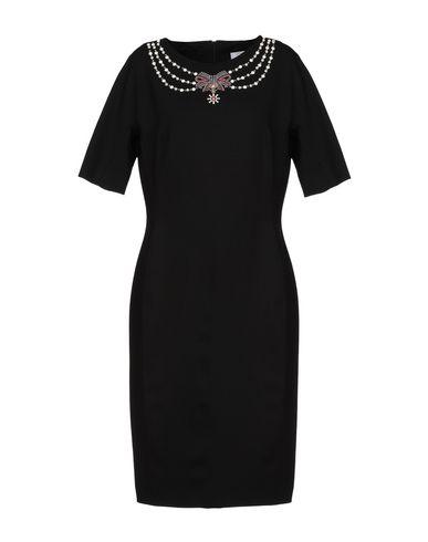 Фото - Платье до колена от CLIPS MORE черного цвета