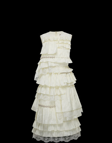 DRESS Ivory 4 Moncler Simone Rocha
