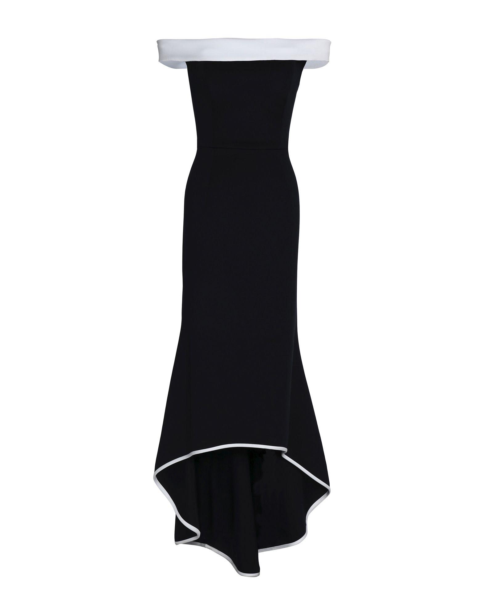 BLACK HALO EVE by LAUREL BERMAN Длинное платье
