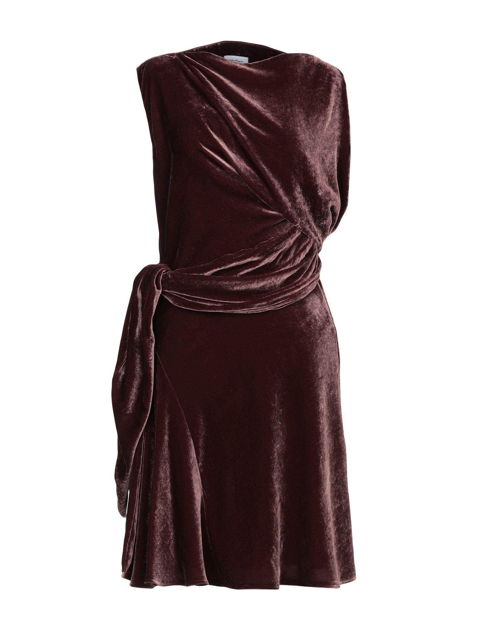 купить SALVATORE FERRAGAMO Платье до колена по цене 53500 рублей
