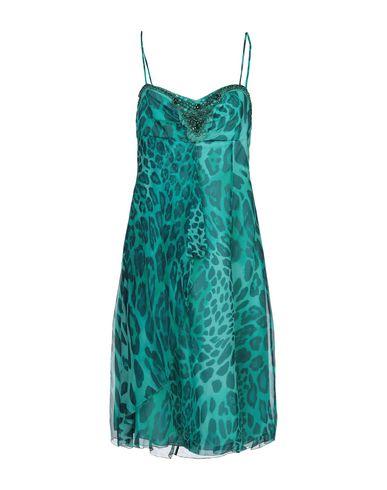 Купить Платье до колена зеленого цвета