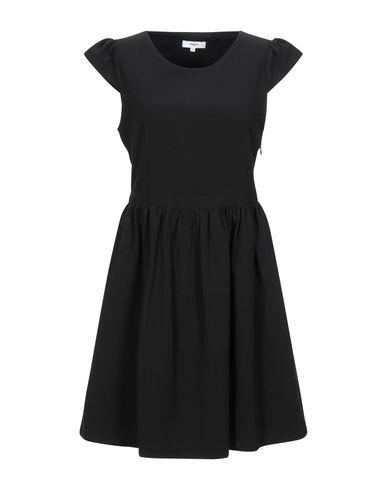 Фото - Женское короткое платье SUNCOO черного цвета