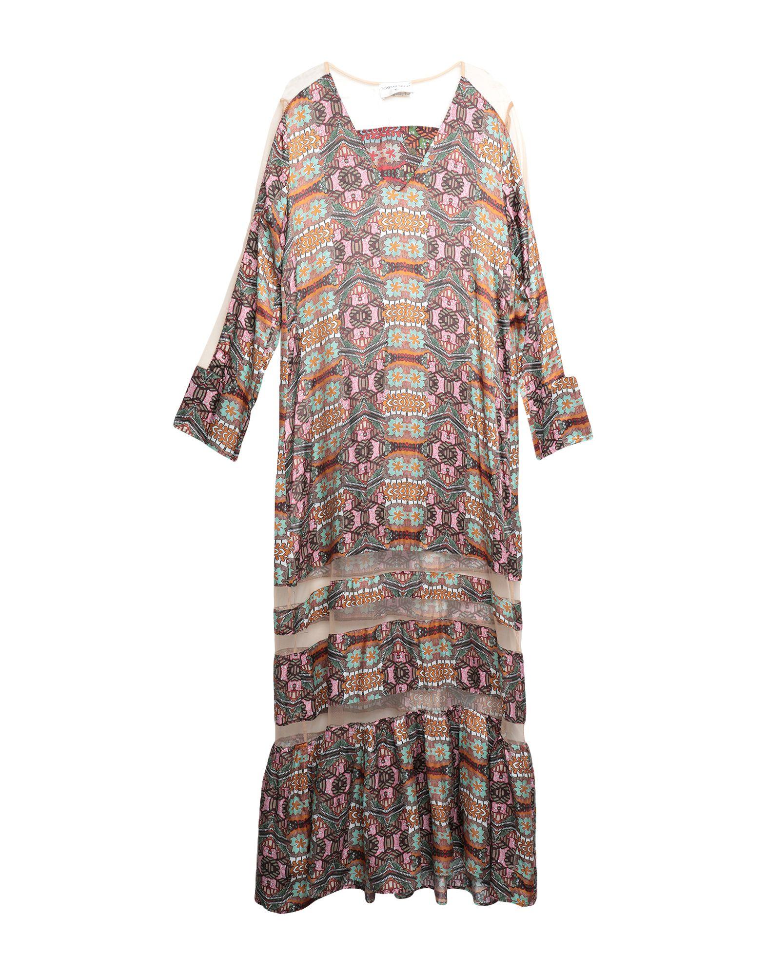 SONIA DE NISCO Длинное платье sonia de nisco кардиган