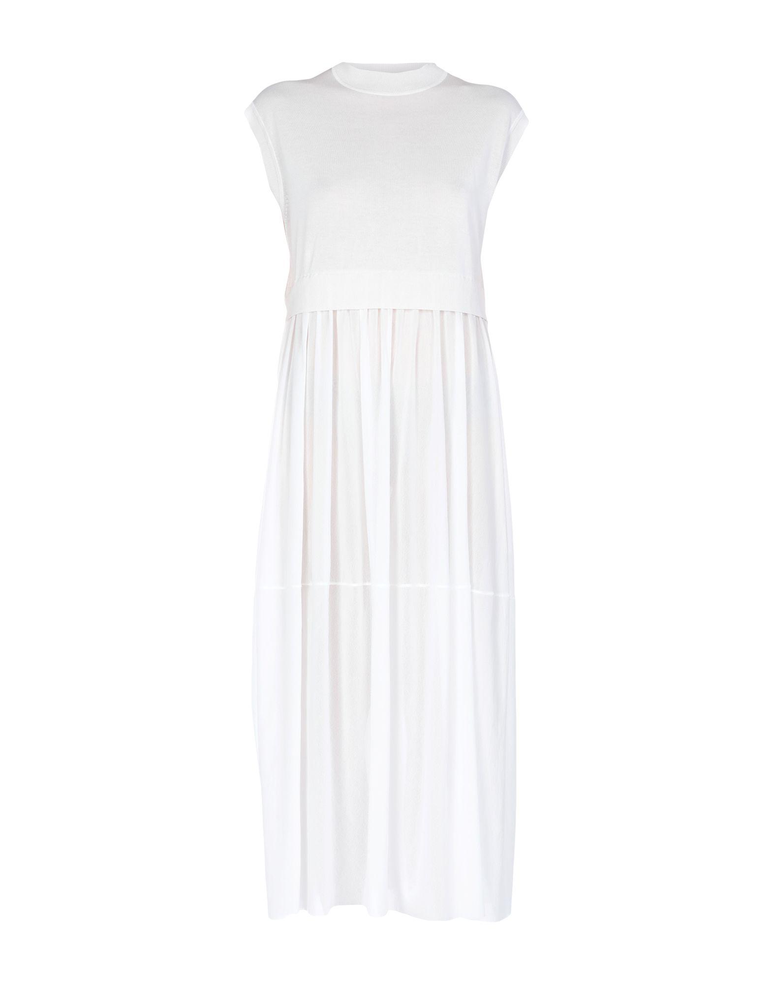 JIL SANDER NAVY Длинное платье