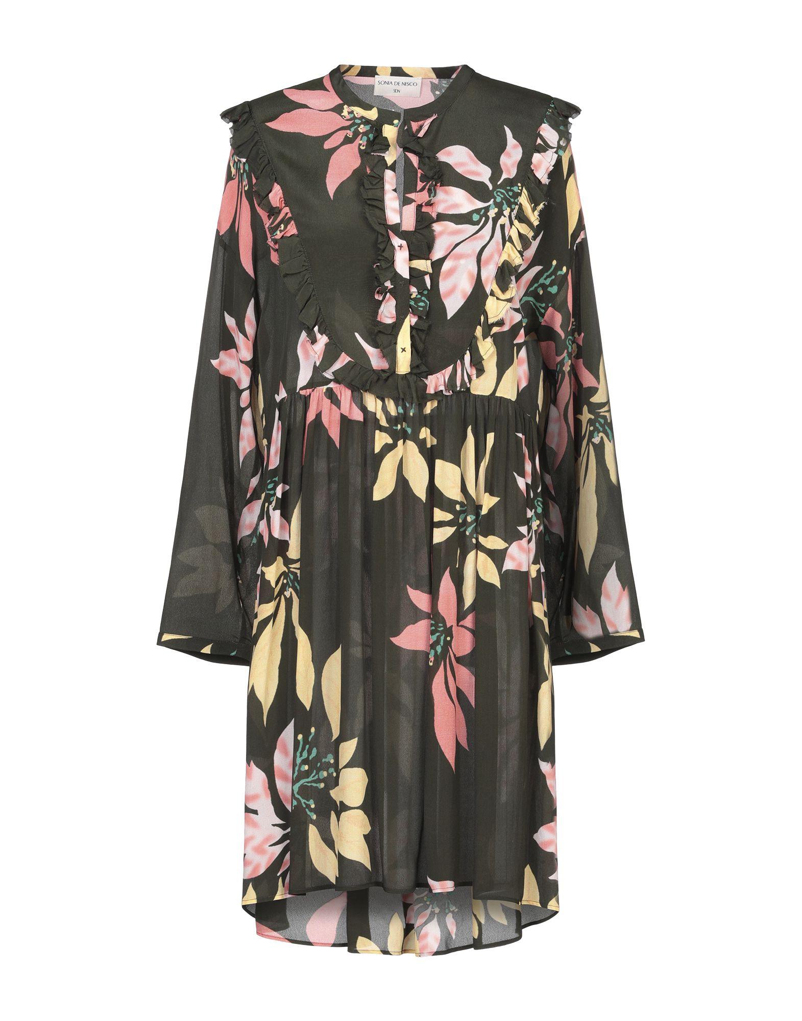 SONIA DE NISCO Короткое платье donatella de paoli короткое платье