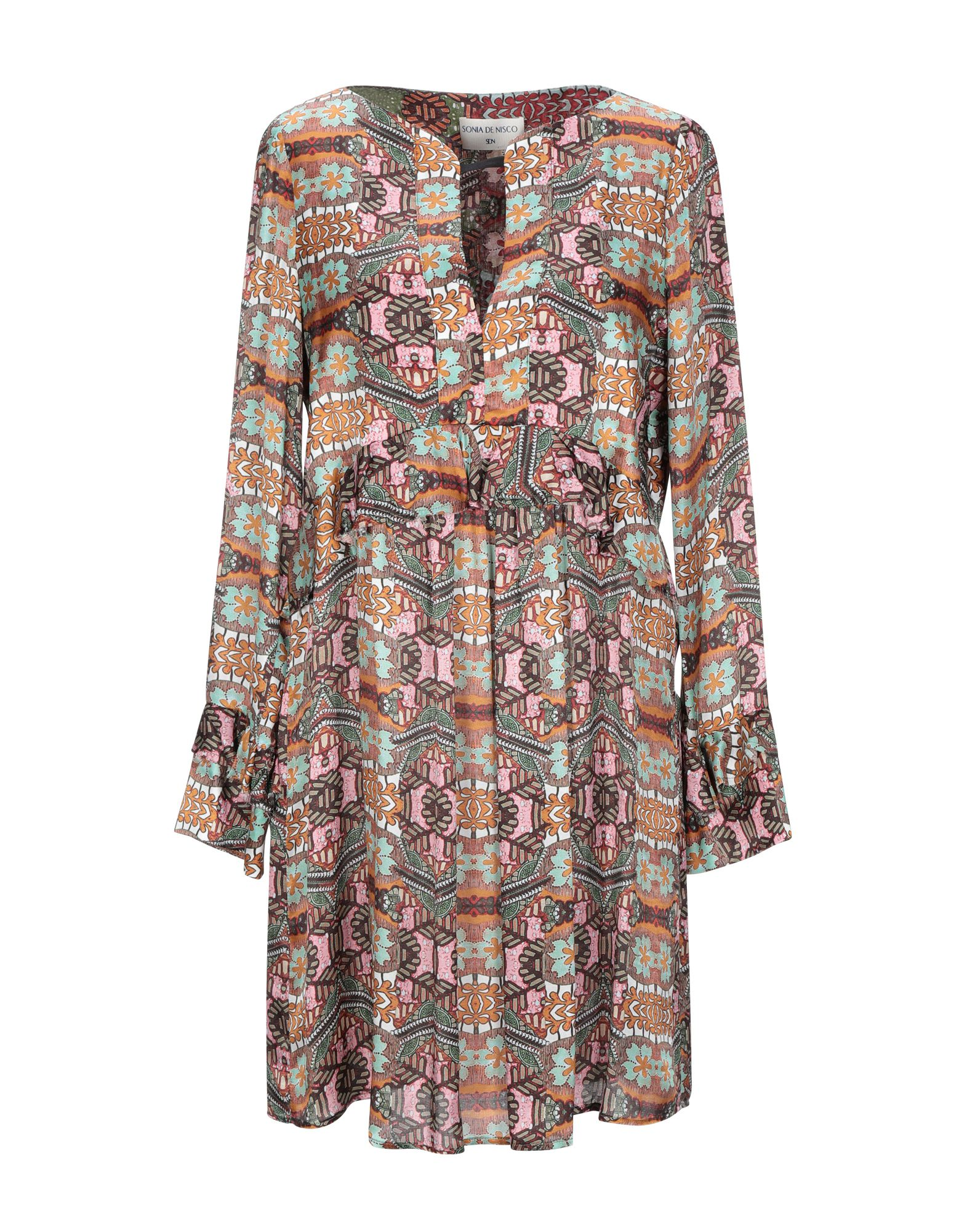 цена SONIA DE NISCO Короткое платье онлайн в 2017 году