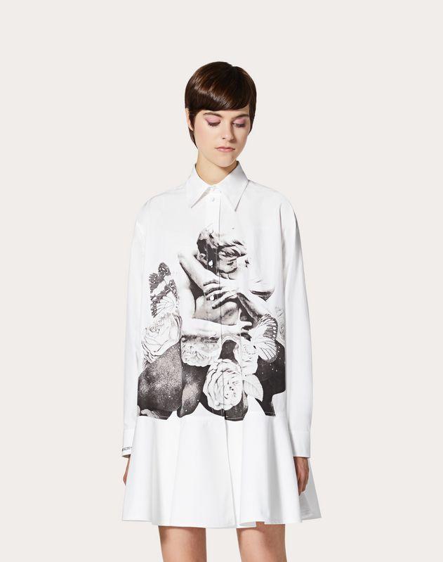 Robe imprimée Undercover en popeline