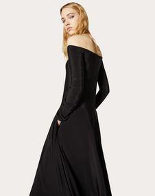 Robe de soirée en cady couture