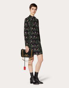 Undercover Print Crepe de Chine Dress