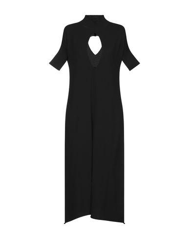 Фото - Платье длиной 3/4 от TWINSET черного цвета