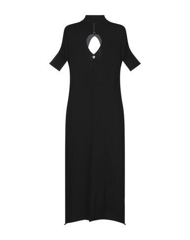 Фото 2 - Платье длиной 3/4 от TWINSET черного цвета