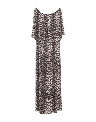 Фото 2 - Женское длинное платье  цвет песочный