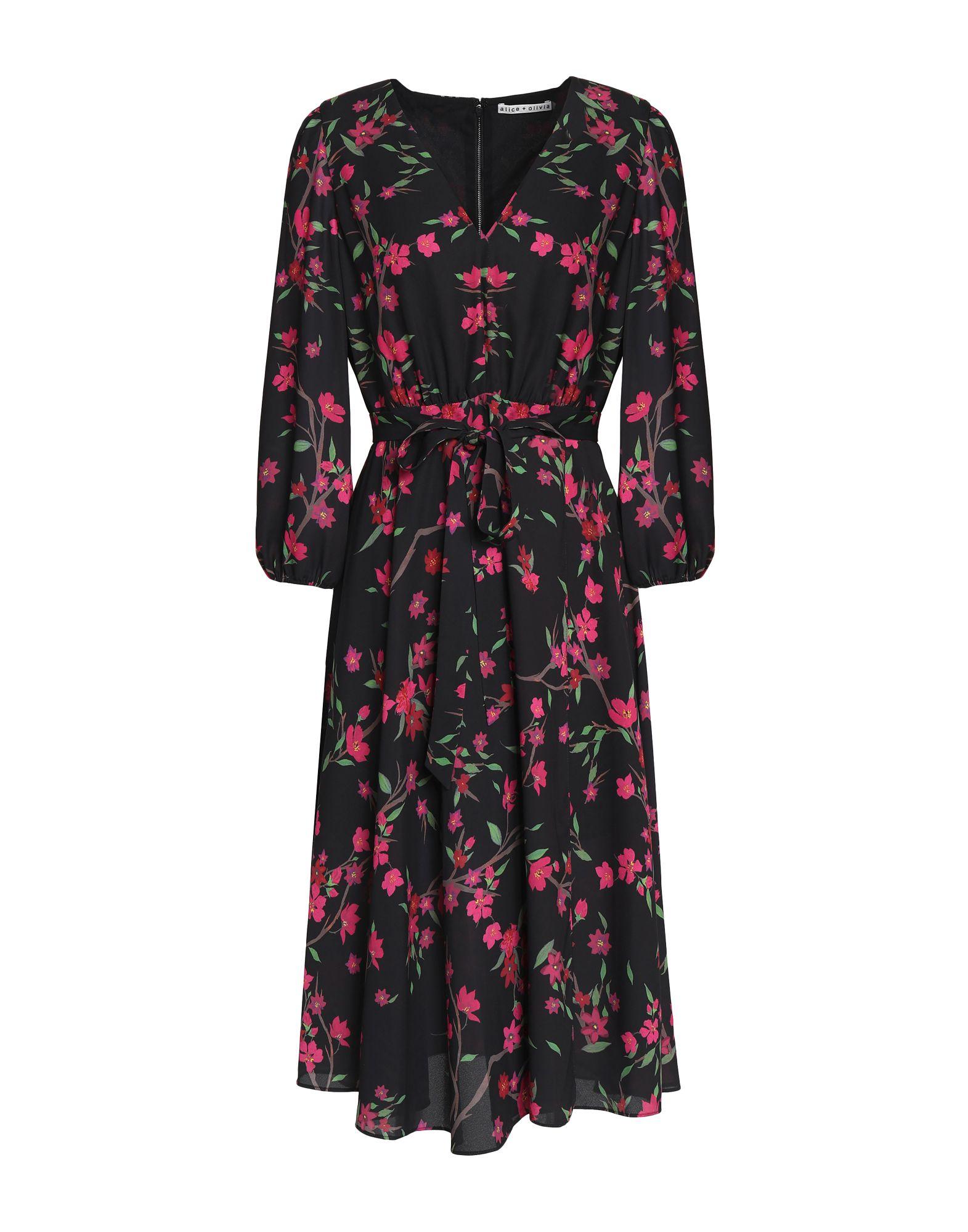 купить ALICE + OLIVIA Платье до колена по цене 22000 рублей