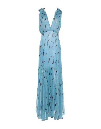 Фото - Женское длинное платье  небесно-голубого цвета