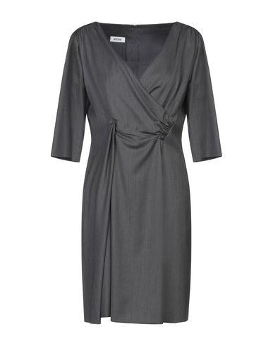 Купить Женское короткое платье  свинцово-серого цвета