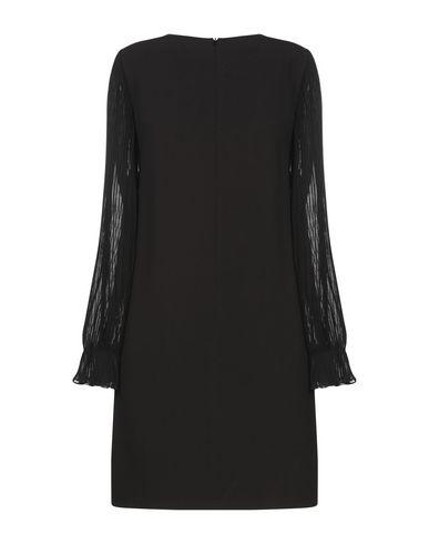 Фото 2 - Женское короткое платье SUNCOO черного цвета