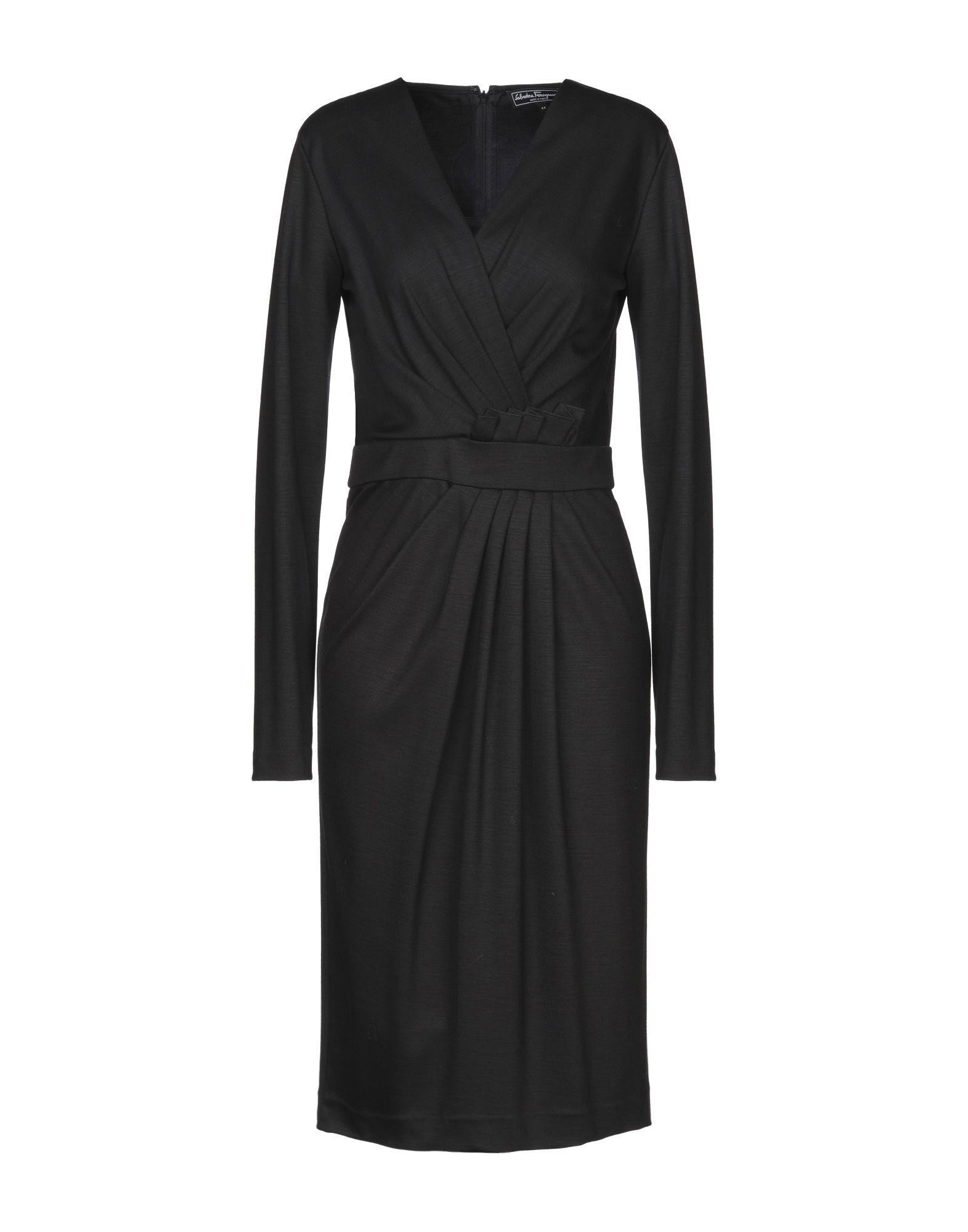 купить SALVATORE FERRAGAMO Платье до колена по цене 32000 рублей