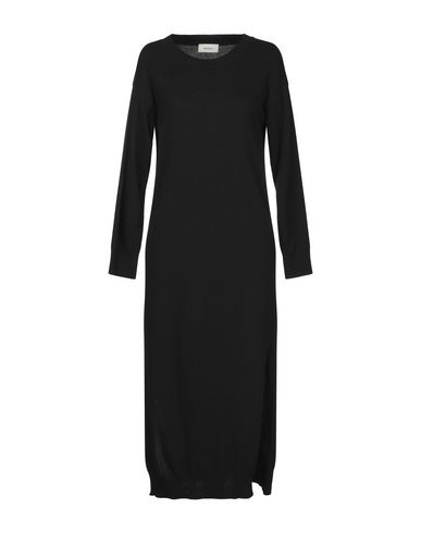 Фото - Платье длиной 3/4 черного цвета