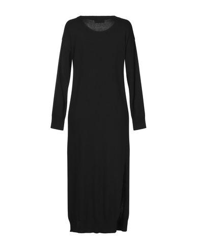 Фото 2 - Платье длиной 3/4 черного цвета
