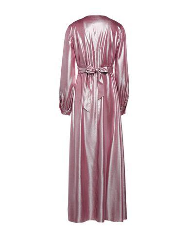 Фото 2 - Женское длинное платье CARACTÈRE цвет пурпурный