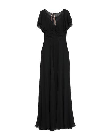 Купить Женское длинное платье  черного цвета