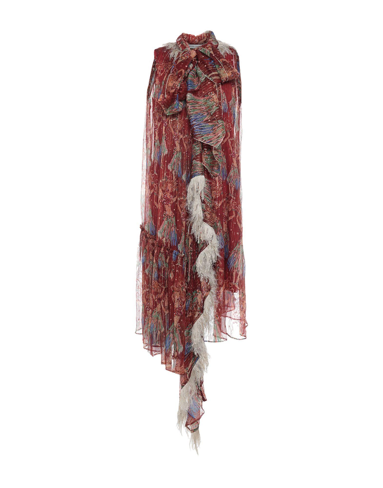 купить TSUMORI CHISATO Платье до колена по цене 73000 рублей